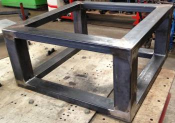 table basse design industriel sur mesure d a r mobilier design en inox. Black Bedroom Furniture Sets. Home Design Ideas